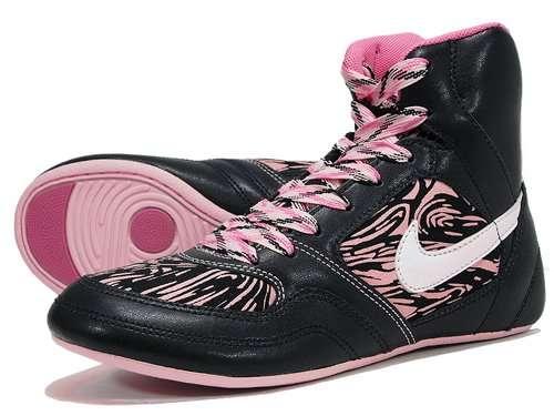 Pink Zebra-Print Sneakers: Nike Women's