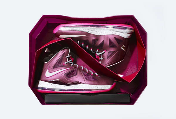 Diamond-Shaped Sneaker Boxes