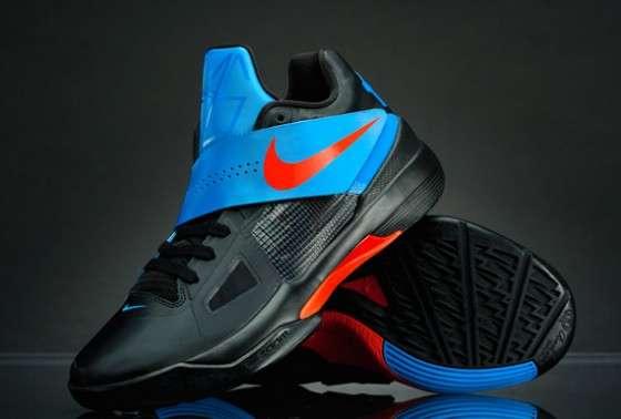 Cross Strap Hoop Kicks   Nike Zoom KD IV 7240db34caf8