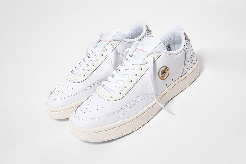Iconic Gold-Accented Sneakers