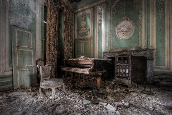 Eerie Abandoned Architecture Photography