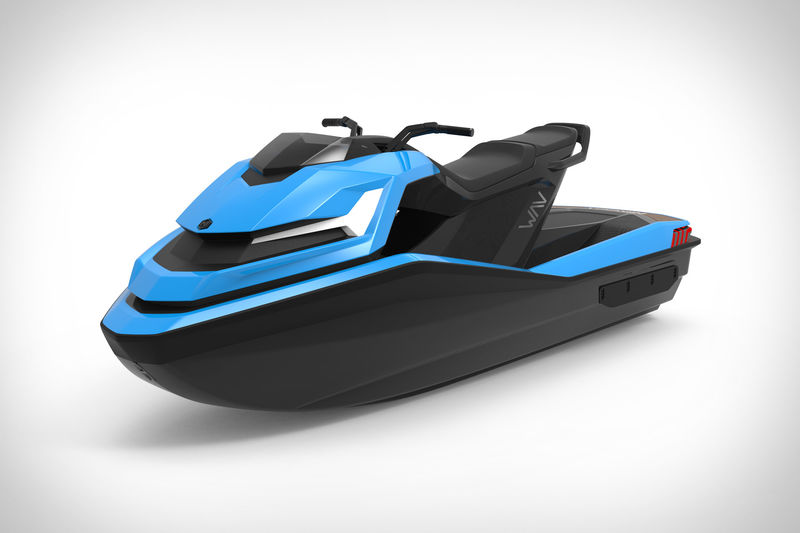 Angular Electric Watercraft