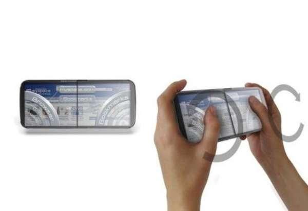 Horizontal Flip Phones