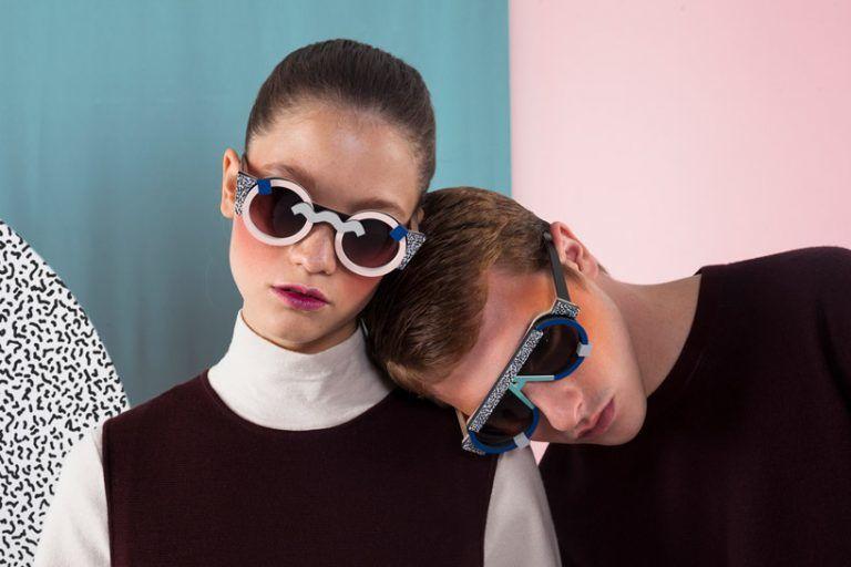 Vibrant Art-Inspired Sunglasses
