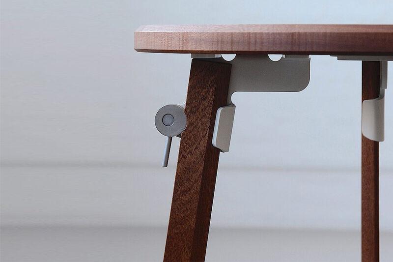 Furniture-Assembling Lever Mechanisms