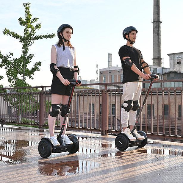 Speedy Self-Balancing Scooters