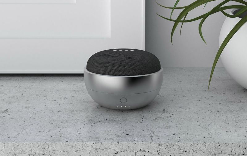 Portable Smart Speaker Bases