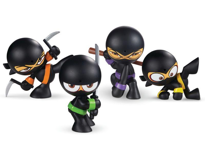 Flatulent Ninja Figurines