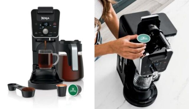 All-in-One Pod-Friendly Coffeemakers