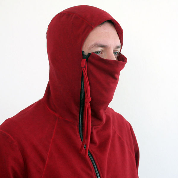 Fully Zippered Ninja Hoodies   ninja hood 8df5253c6ad