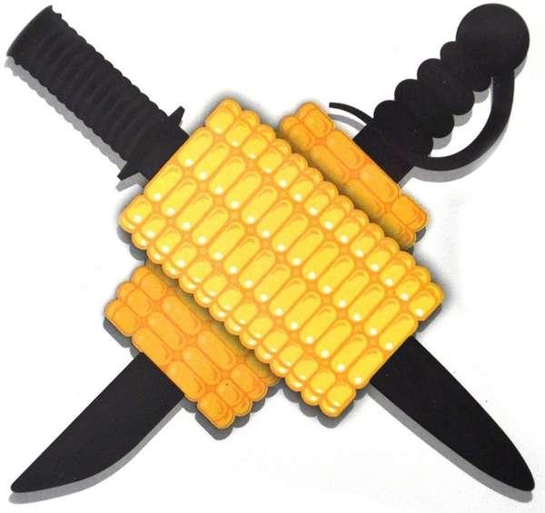 Battling Blade Corn Picks Ninja Vs Pirate