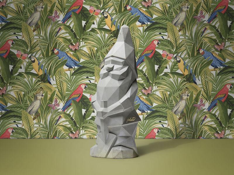 Brutalist Lawn Gnomes