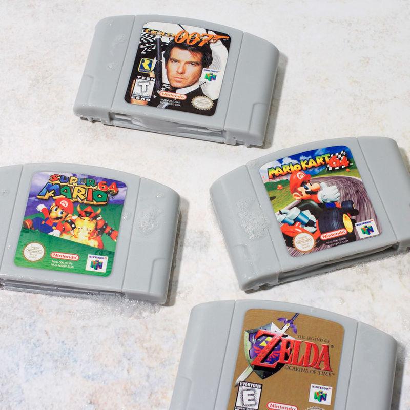 Video Game Cartridge Soaps
