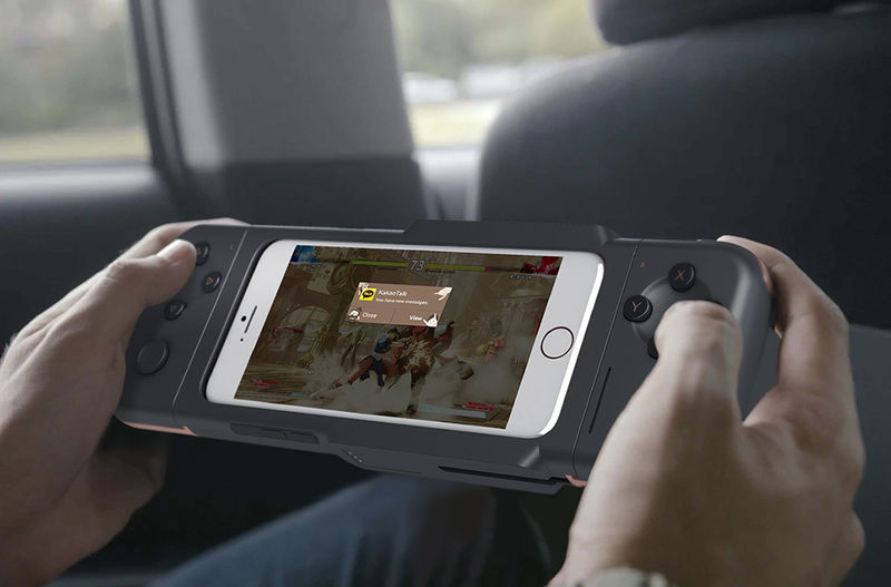 Multi-Position Smartphone Gamepads