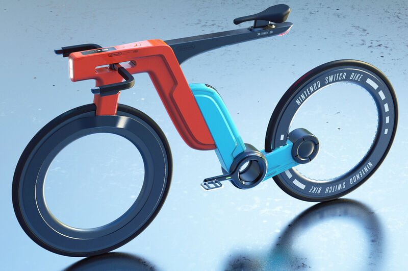 Gaming Console-Inspired Electric Bikes