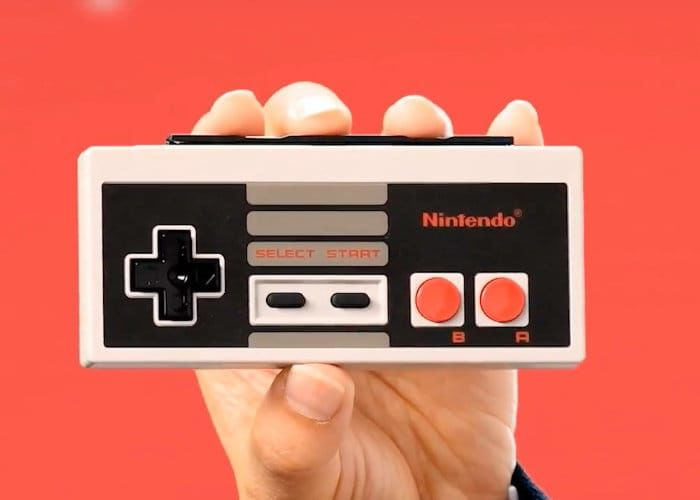 Modernized Retro Game Controllers