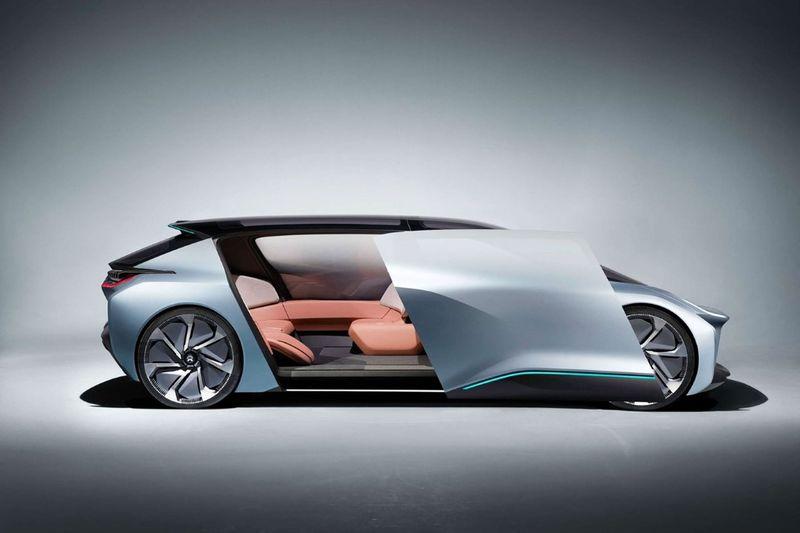 Futuristically Sporty Family Vehicles