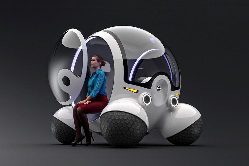 Spherical Pod-Like Vehicles