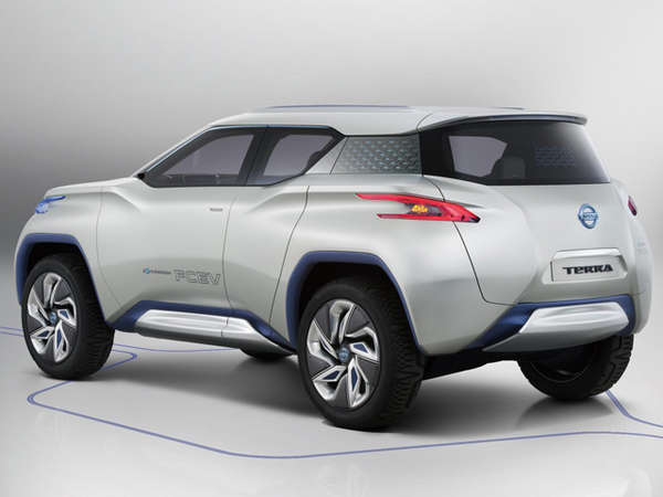 Hydrogen-Powered Crossover Concepts