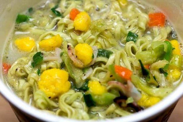 Green Tea Noodle Cups