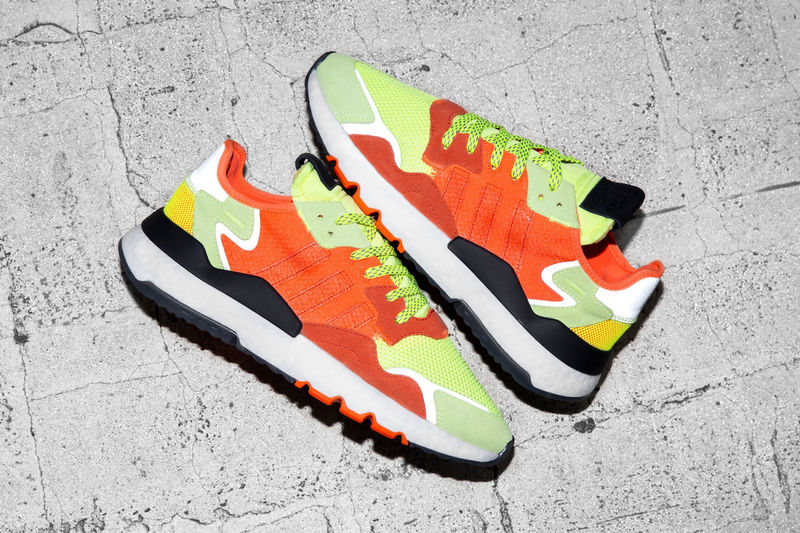 Fluorescent-Accented Running Shoes