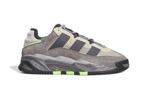 Retro Tonal Paneling Sneakers