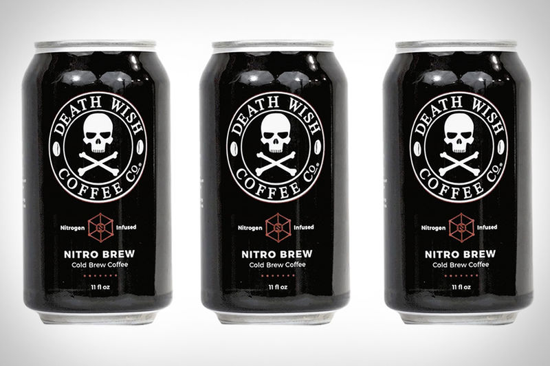 Nitrogen-Infused Canned Coffees