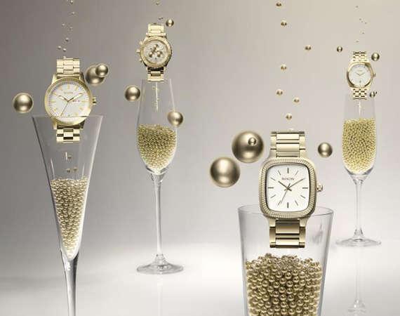 Celebratory Champagne Watches