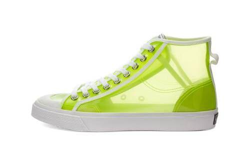 Semi-Translucent High-Top Shoes