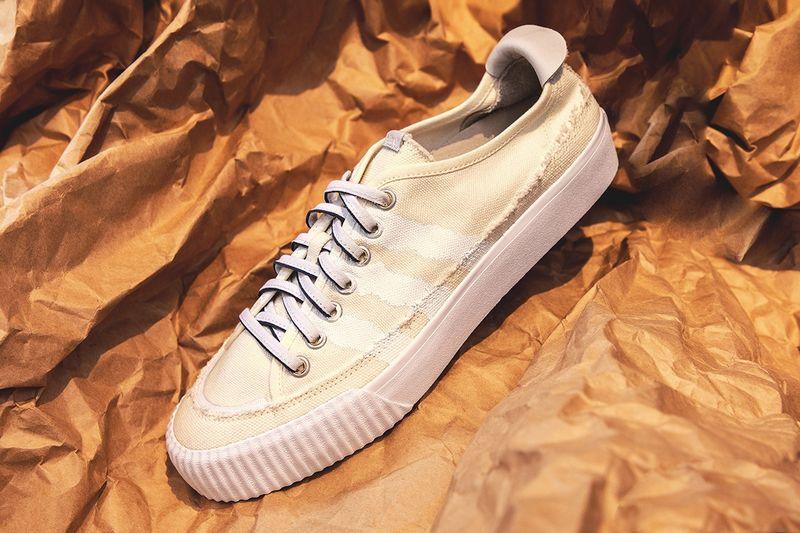 Deconstructed Uneven Sneakers