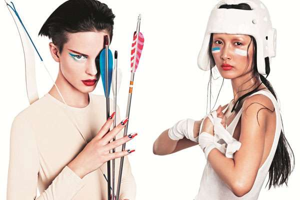 Olympic-Inspired Makeup Ads