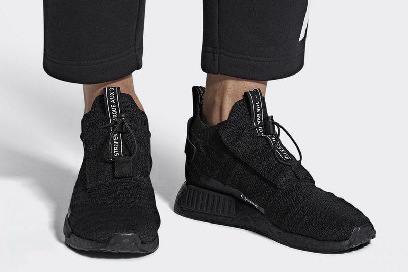 Sleek Technical Knit Sneakers