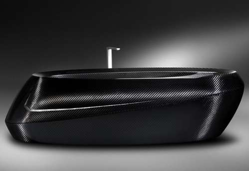 Lavish Carbon Fiber Bathtubs