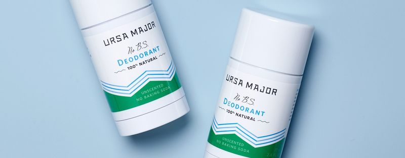 Natural Clay-Based Deodorants