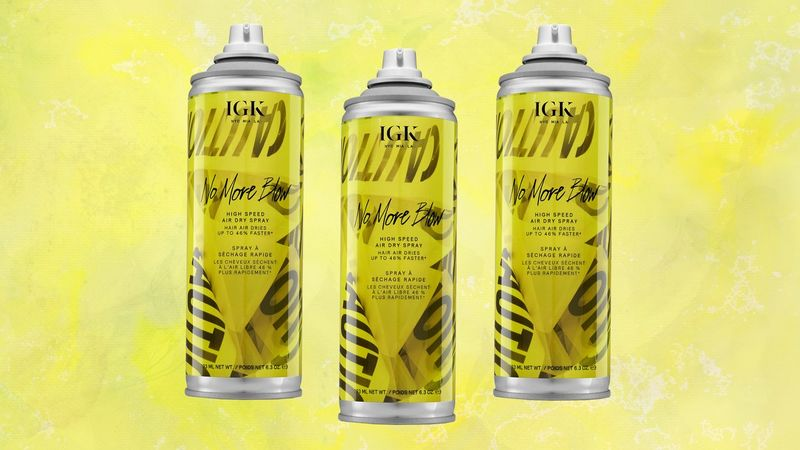 Hair Dry-Speeding Sprays
