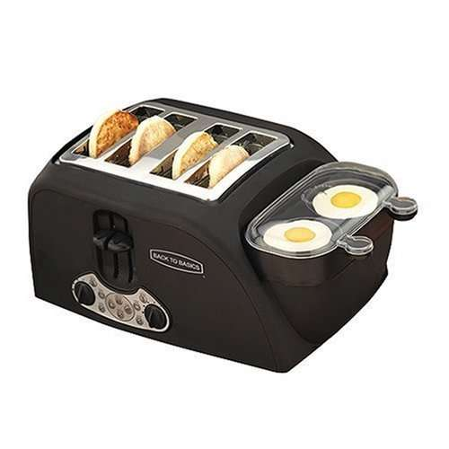 All In One Breakfast Maker The Egg Muffin Toaster