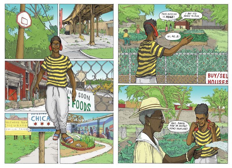 Urban Architectural Graphic Novels