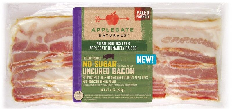 Uncured Sugar-Free Bacon