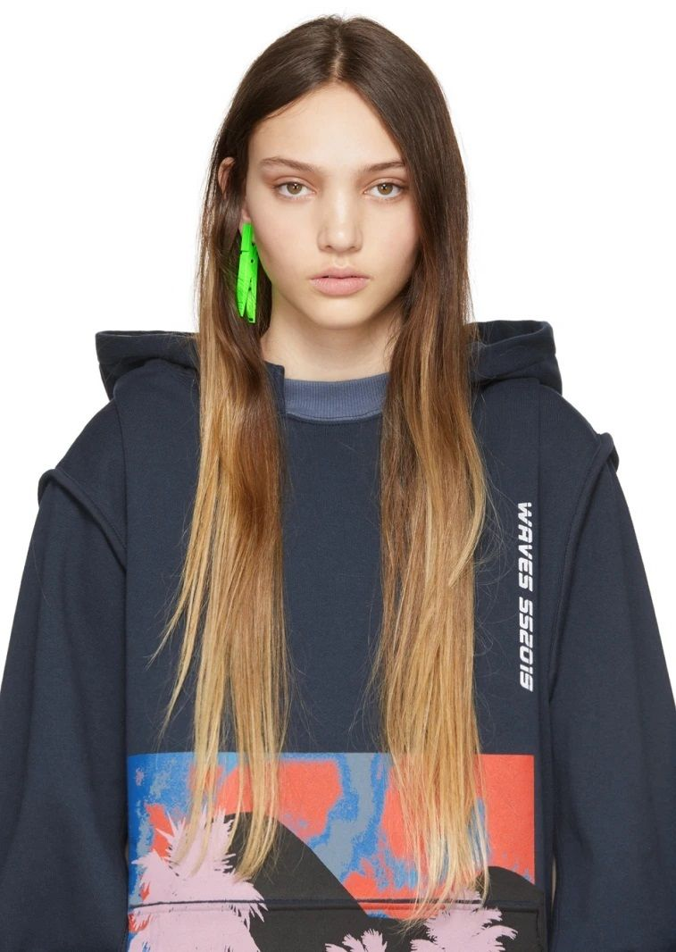 Clothes Pin Statement Earrings