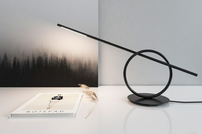 Sculptural Desktop Illuminators