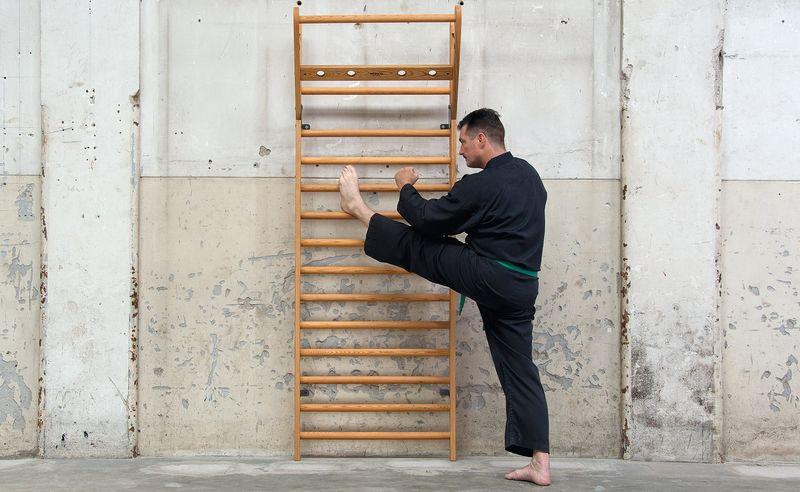 Wall-Mounted Exercise Racks