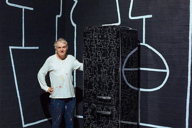 Artist-Designed Refrigerators