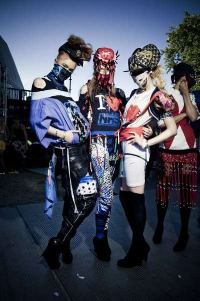Masked Model Fashion Shows