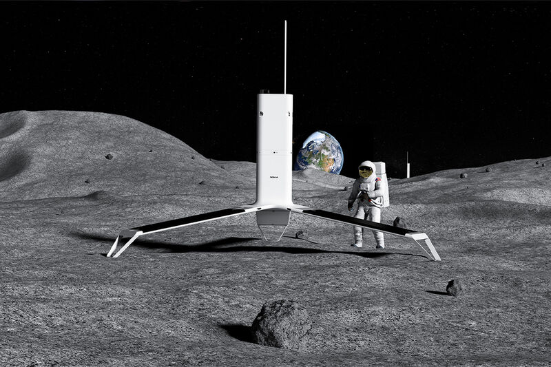Lunar Surface WiFi Networks