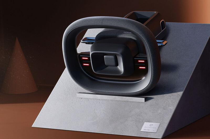 Cellphone-Inspired Steering Wheels