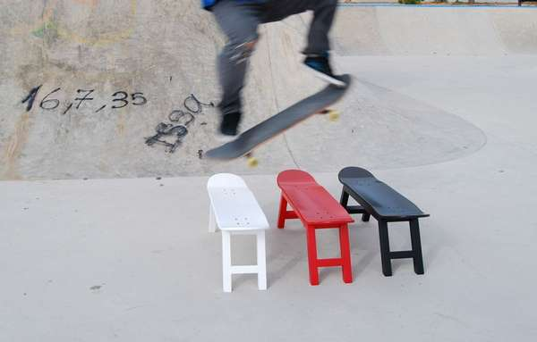 Sophisticated Skateboard Seating