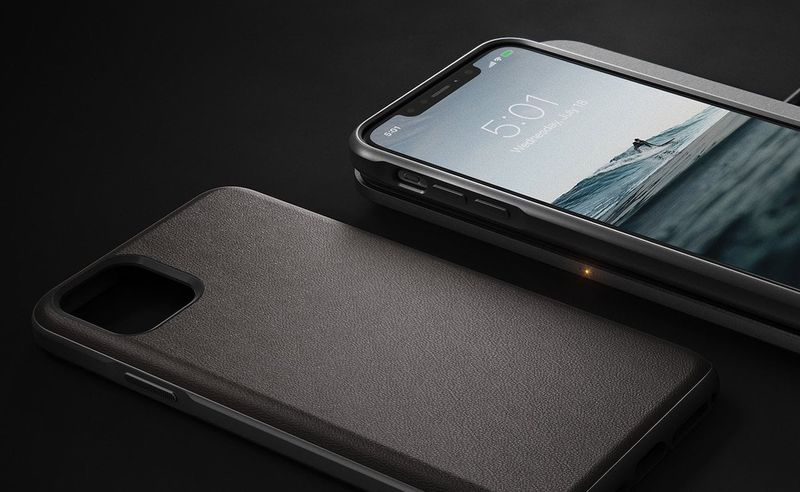 Water-Resistant Leather Smartphone Cases