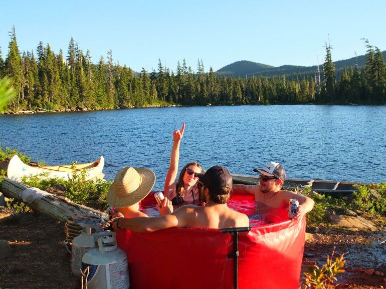 Portable Wilderness Whirlpools