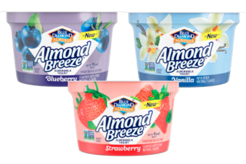 Berry-Infused Non-Dairy Yogurts