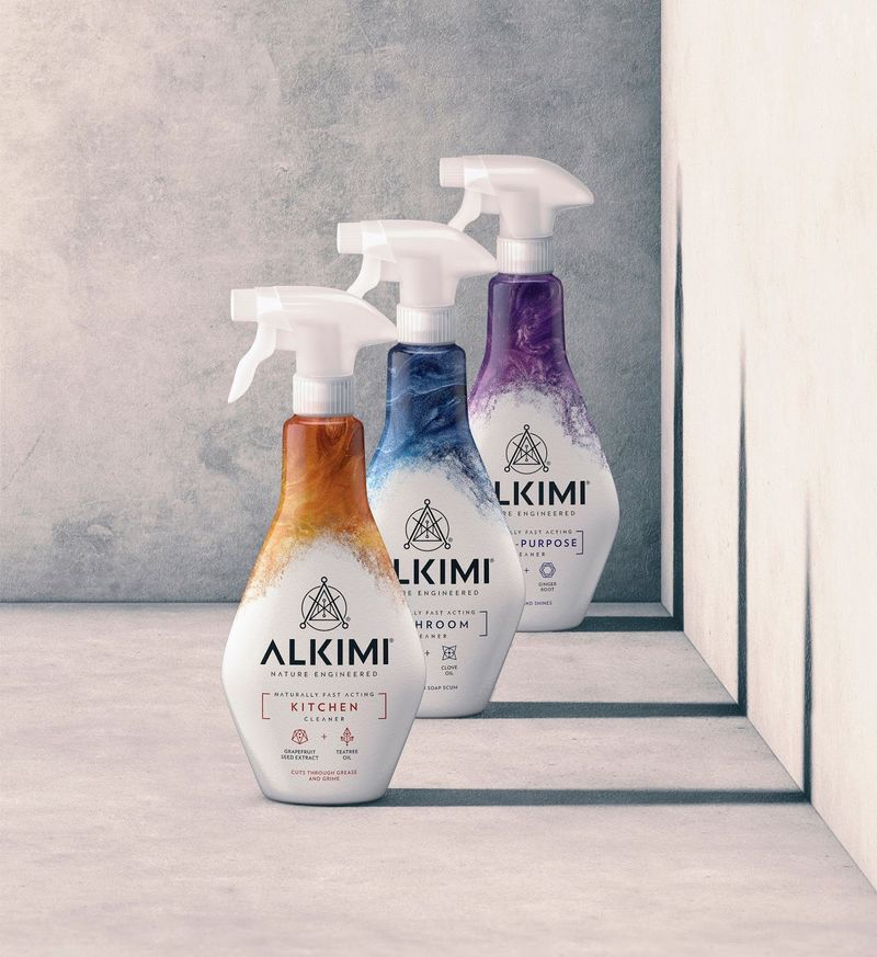 Non-Toxic Naturally Powered Cleaners